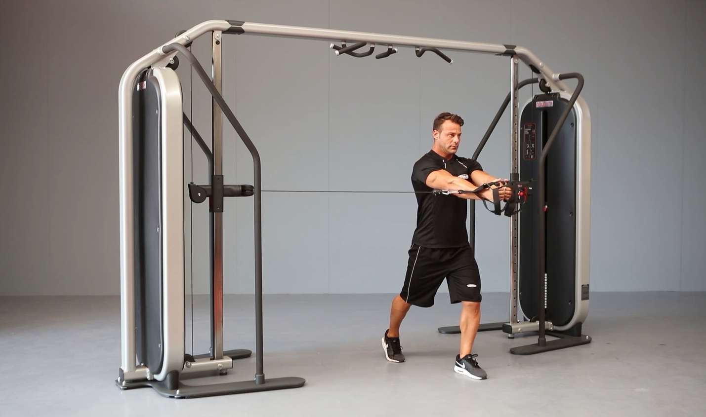 Cable Crossover Machine Exercises
