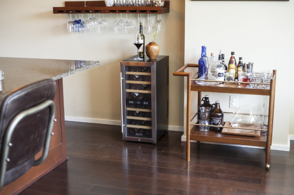 Where To Put Your New Home Wine Refrigerator